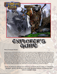 RPG Item: Steampunk Musha Explorer's Guide