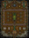 RPG Item: VTT Map Set 193: The Jade Temple