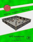 RPG Item: Battlemap: Stonemason's Workshop