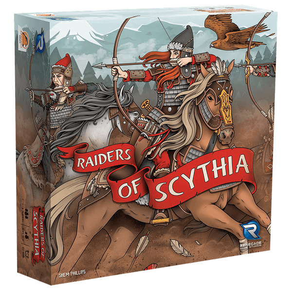 Raiders of Scythia 3D Box - Renegade Edition