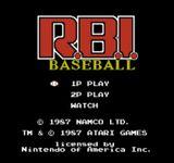 Video Game: R.B.I. Baseball
