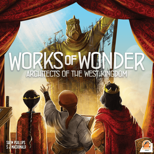 Board Game: Architects of the West Kingdom: Works of Wonder