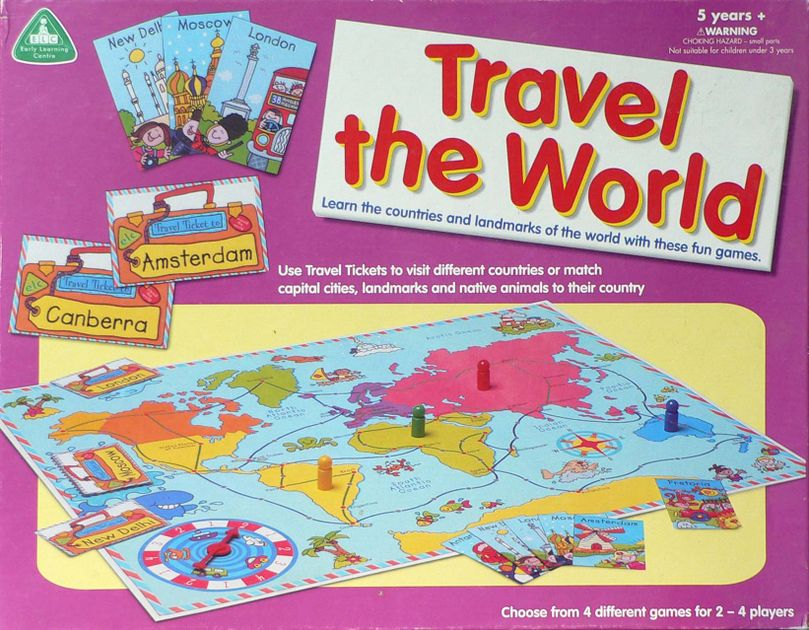 Travel The World Board Game BoardGameGeek - Countries of the world game