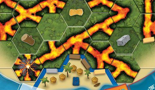 Board Game: Eruption