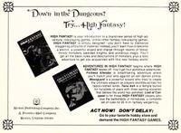 RPG Item: High Fantasy (Second Edition)