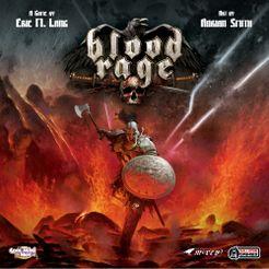 Blood Rage Cover Artwork