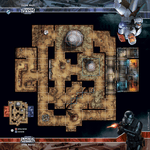 Board Game Accessory: Star Wars: Imperial Assault – Lothal Wastes Skirmish Map