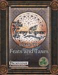 RPG Item: The Grey Papers Issue #1: Feats and Taxes