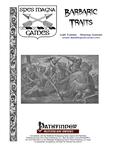 RPG Item: Barbaric Traits