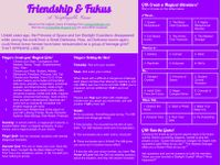 RPG Item: Friendship & Fukus