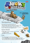 Board Game: Blocky Mountains: The Rock Slide