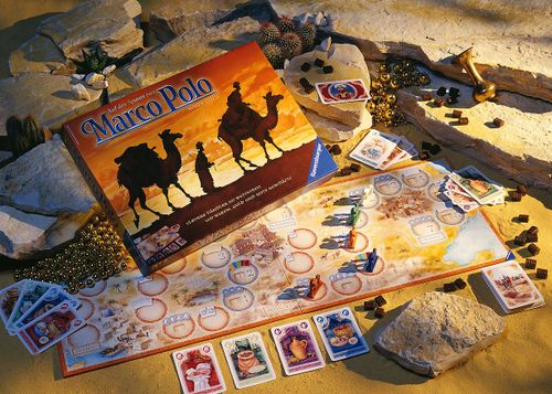 Board Game: Marco Polo Expedition
