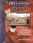 RPG Item: Knuckleduster Cowtown Creator