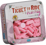 Board Game Accessory: Ticket to Ride: Play Pink
