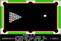 Video Game: Pool 1.5