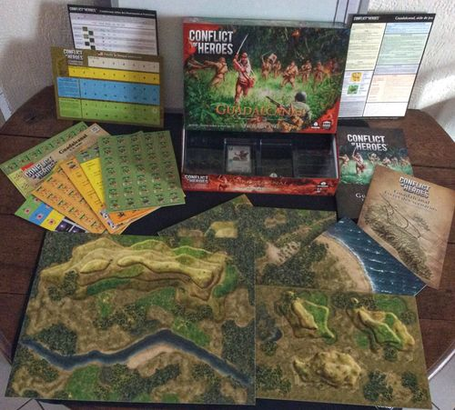 Board Game: Conflict of Heroes: Guadalcanal – The Pacific 1942