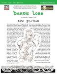 RPG Item: Bardic Lore: The Fachan