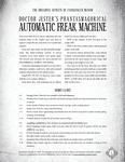 RPG Item: Doctor Jester's Phantasmagorical Automatic Freak Machine