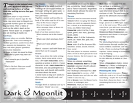 RPG Item: Dark & Moonlit