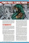 RPG Item: Power Profile #21: Element Powers