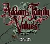 Video Game: Addams Family Values
