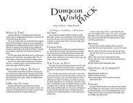 RPG Item: Dungeon World Hack
