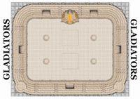 Board Game: Gladiator School