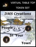 RPG Item: Virtual Table Top Token Set: People in Your Town (Set 1)