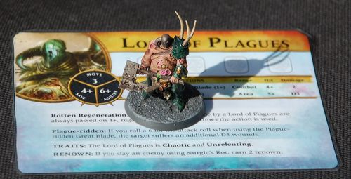 Board Game: Warhammer Quest: Silver Tower – Lord of Plagues