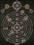 RPG Item: VTT Map Set 032: Tomb of the Serpent King