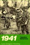 Board Game: 1941: Operation Barbarossa