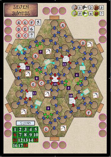 Board Game: Seven Swords