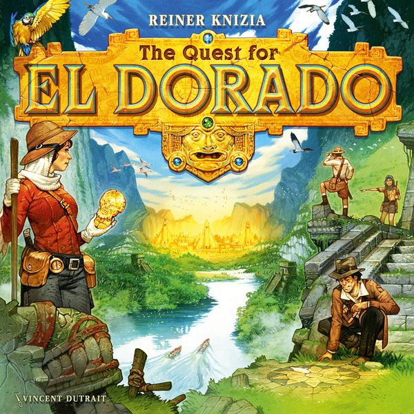 The Quest for El Dorado — cover art by Vincent Dutrait (image provided by the artist)