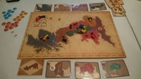 Board Game: The King Is Dead