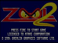 Video Game: Zool 2