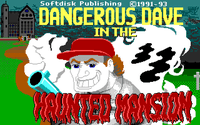 Video Game: Dangerous Dave in the Haunted Mansion