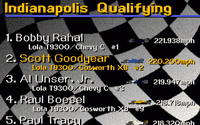 Video Game: Indianapolis Motor Speedway Expansion Pack