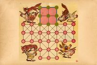 Board Game: Fox and Geese