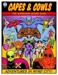 Board Game: Capes & Cowls: The Superhero Board Game