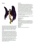RPG Item: Classes of Fantasy: Harpy