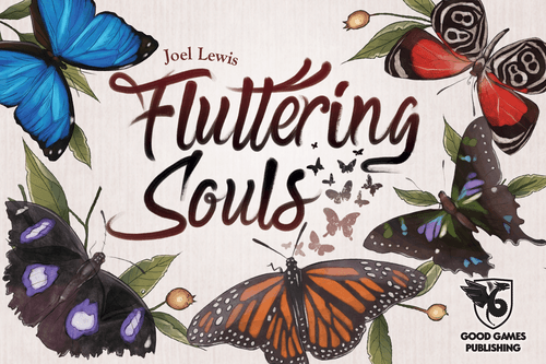 Fluttering Souls, Good Games Publishing, 2019 — front cover (image provided by the publisher)