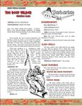 RPG Item: The Deep Wilder Prestige Class