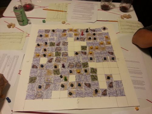 Board Game: The Dangerous Sea