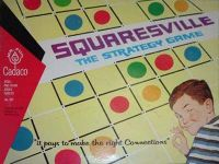 Board Game: Squaresville, The Strategy Game