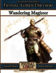 RPG Item: Feudal Lords Preview: Wandering Magister