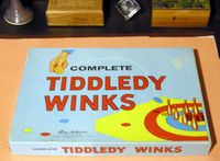 Board Game: Complete Tiddledy Winks