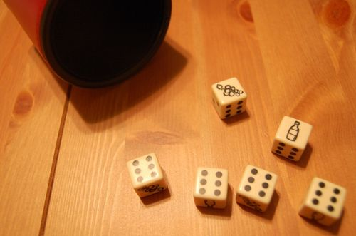 Board Game: Crush! The Dice Game