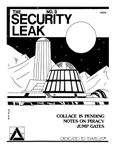 Issue: The Security Leak Magazine (Issue 3 - 1987)