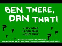 Video Game: Ben There, Dan That!