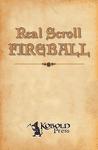 RPG Item: Real Scroll 1: Fireball